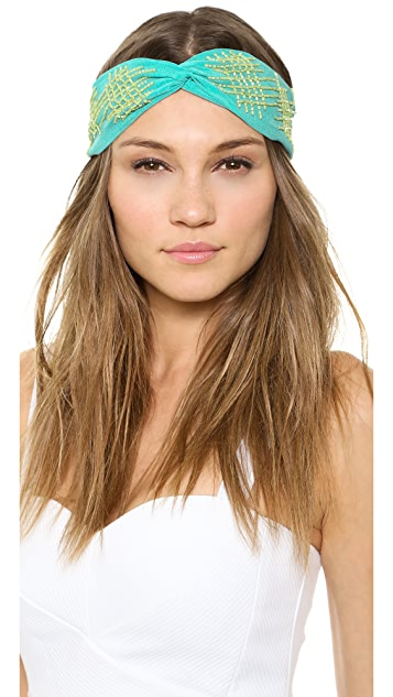 NAMJOSH Crisscross Turban Headband