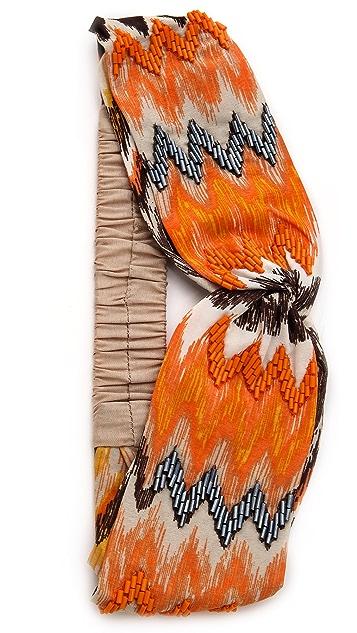 NAMJOSH Ikat Turban Headband