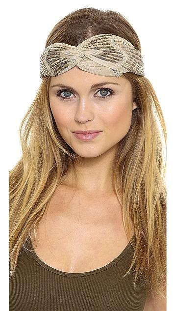 NAMJOSH Beaded Turban Headband