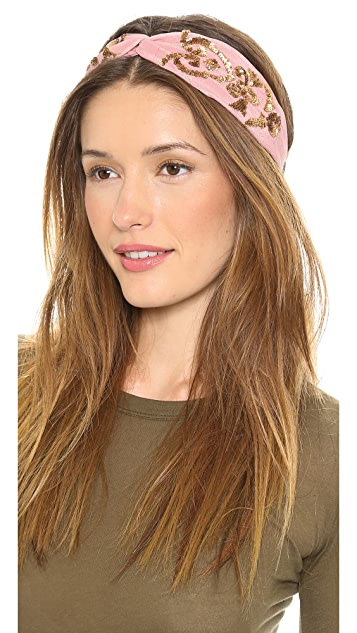 NAMJOSH Embellished Turban Headband