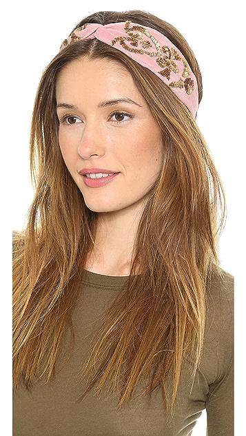Namrata Joshipura Embellished Turban Headband