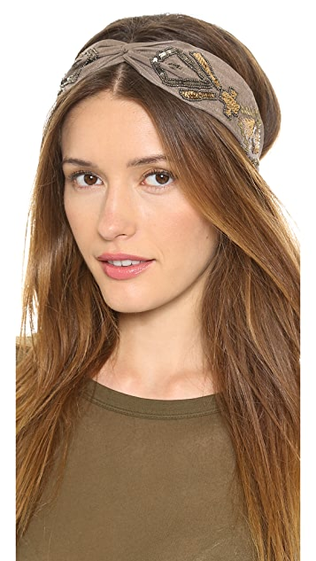 NAMJOSH Moroccan Turban Headband