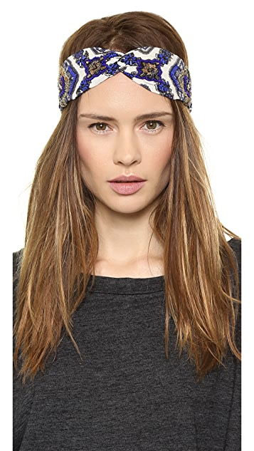NAMJOSH Paisley Turban Headband