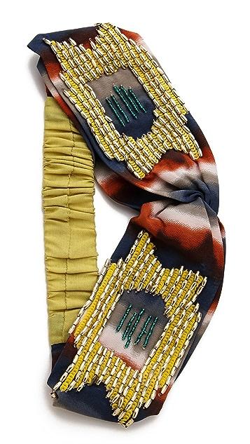 NAMJOSH Tie Dye Turban Headband