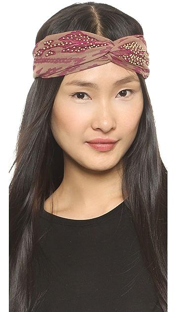 NAMJOSH Embellished Turban Headband