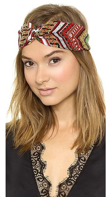 NAMJOSH Patterned Turban Headband