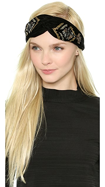 NAMJOSH Velvet Turban Headband