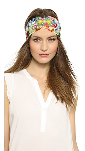 NAMJOSH Tropical Turban Headband