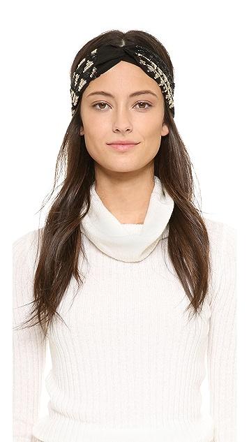 NAMJOSH Sequin Turban Headband