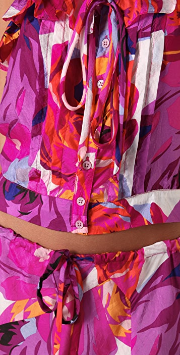 Nanette Lepore Rain or Shine Skirt and Top Combo