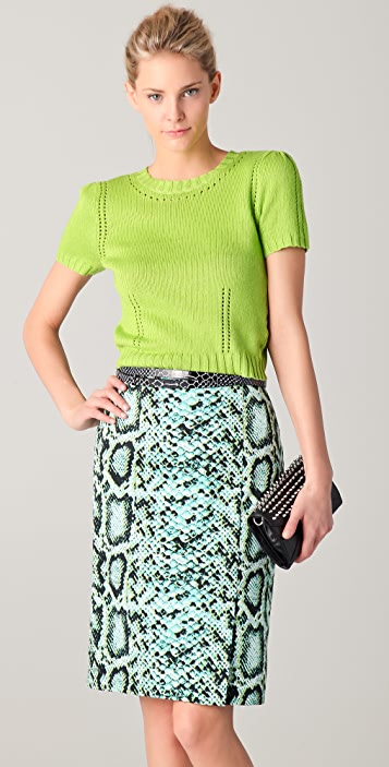Nanette Lepore Juggler Knit Top