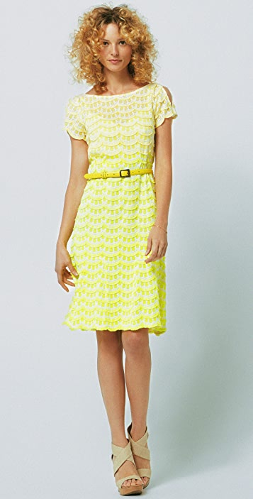 Nanette Lepore Homecoming Lace Dress