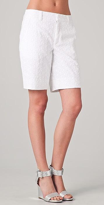 Nanette Lepore Sandbar Eyelet Shorts