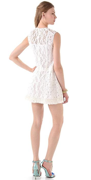 Nanette Lepore Sunset Blvd Lace Shift Dress