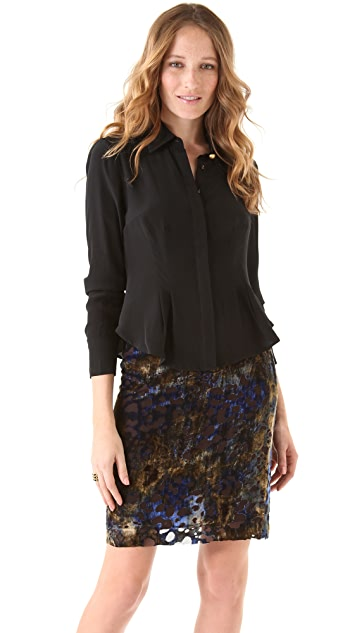 Nanette Lepore Falling For You Top