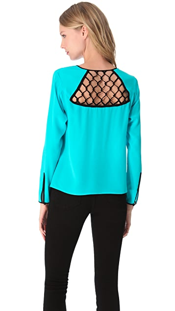 Nanette Lepore Visual Top