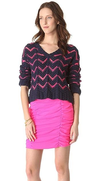 Nanette Lepore Exhibitioner Sweater