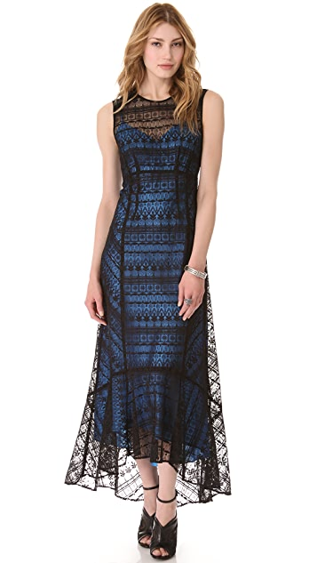 Nanette Lepore Appaloosa Maxi Dress