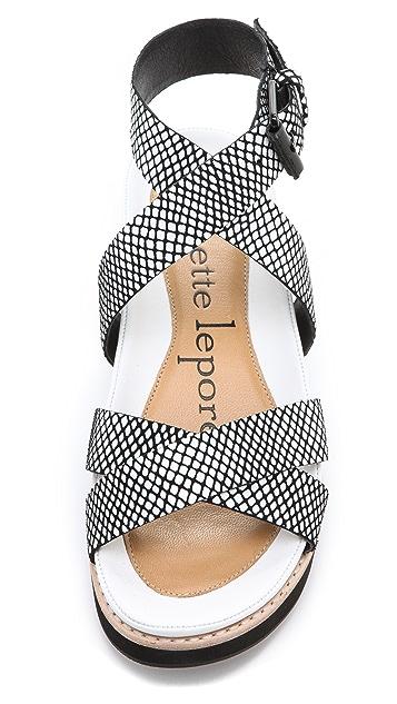 Nanette Lepore Summer Crush Sandals