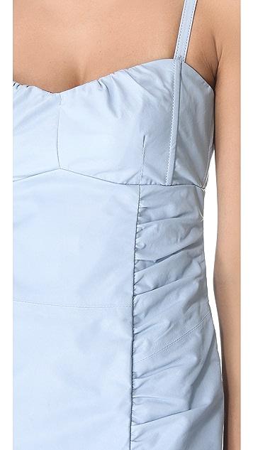 Nanette Lepore Wild Child Leather Dress