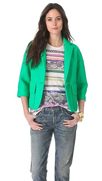Nanette Lepore Raving Raffia Jacket