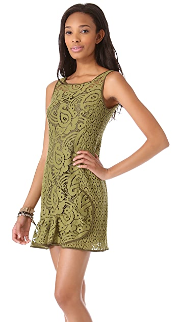 Nanette Lepore Mambo Lace Dress