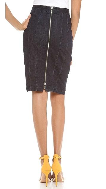 Nanette Lepore Strollin Denim Skirt