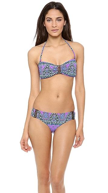 Nanette Lepore Moroccan Medallion Bikini Top