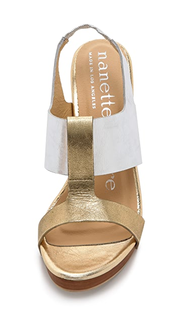 Nanette Lepore Highball Heeled Sandals