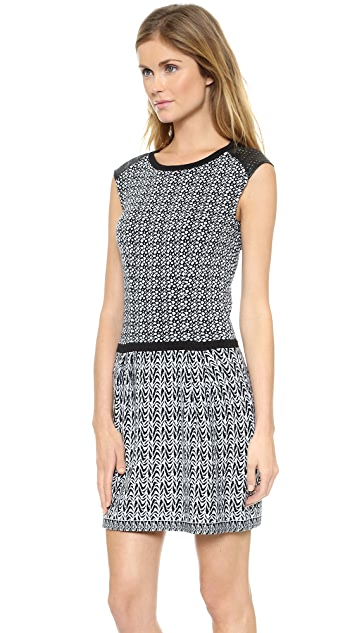 Nanette Lepore Composition Sheath Dress