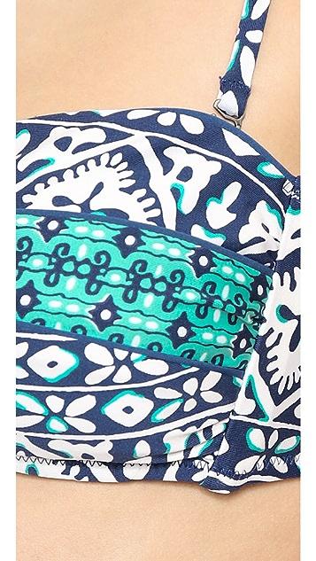 Nanette Lepore Mix & Mingle V Wire Bikini Top