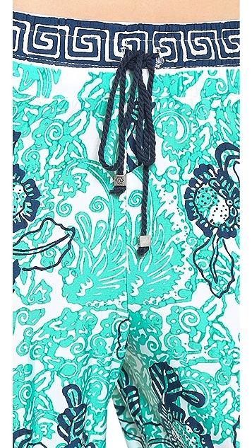Nanette Lepore Batiki Print Beach Pants