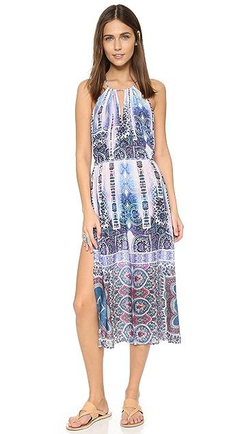 Nanette Lepore Paros Paisley Midi Dress
