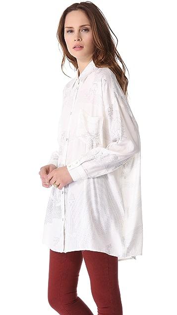 Nanushka Woody Shirt