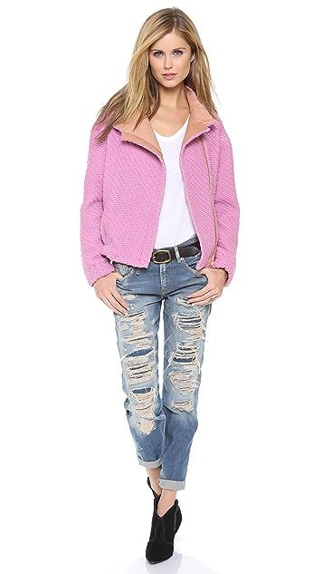 Nanushka Celine Jacket