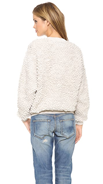 Nanushka Katy Loop Stitch Sweater