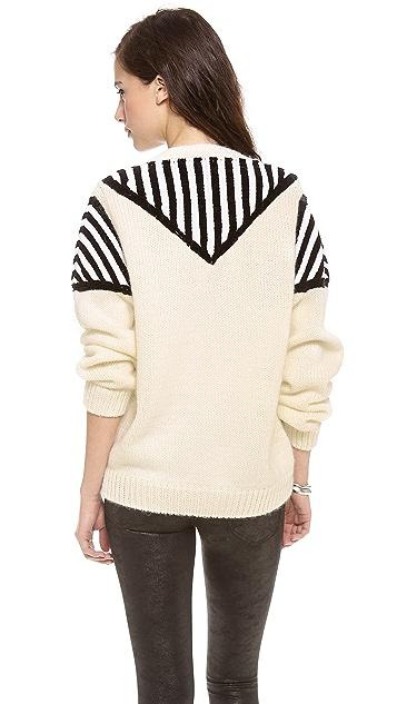 Nanushka Teba Intarsia Sweater