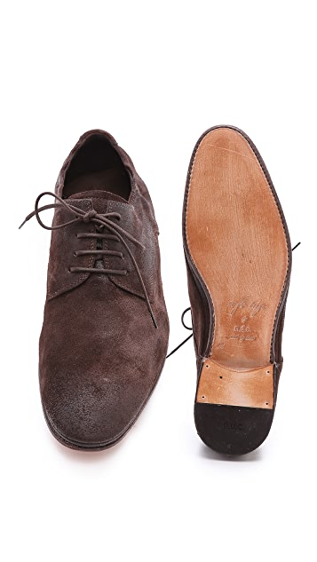 n.d.c. made by hand Softy Blucher Oxfords