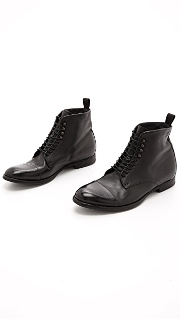 n.d.c. made by hand Contadino Cap Toe Boots