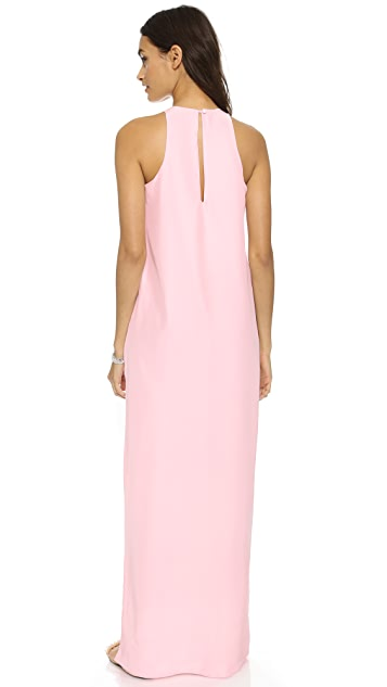 Natalie Deayala The High Neck Gown
