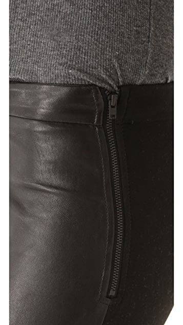 Nicholas Bethany Leather Leggings