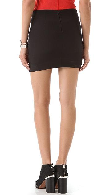 Nicholas Neon Dust Print Skirt
