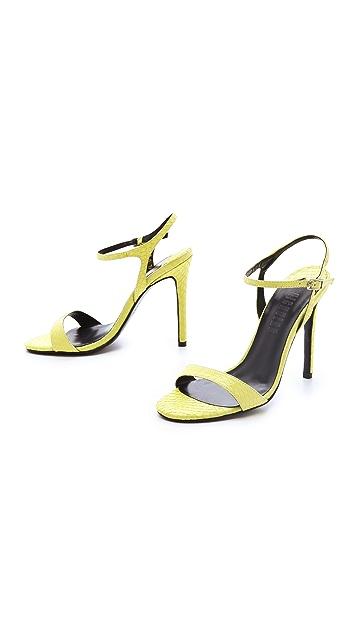 Nicholas Jackie Snake Sandals