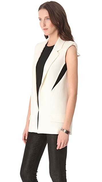 Nicholas Tailored Two Tone Vest
