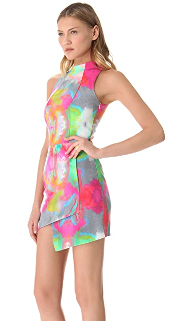 Nicholas Watercolor Dress