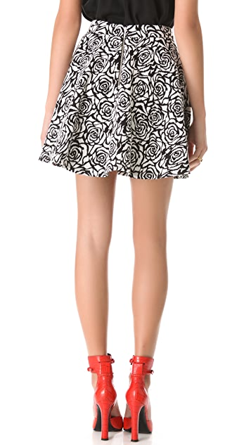 Nicholas Rose Circle Skirt