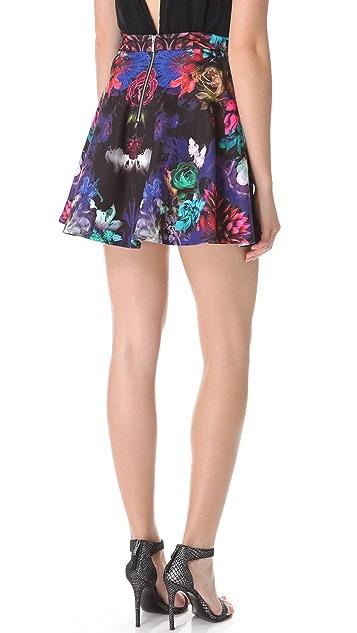 Nicholas Digi Floral Circle Skirt
