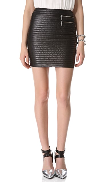 Skirts Buy Cheap Nicholas Quilted Black Mini Skirt Clothing, Shoes & Accessories
