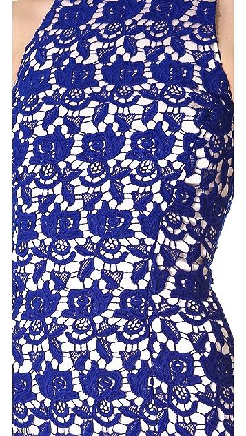 Nicholas Peony Lace Sleeveless Dress
