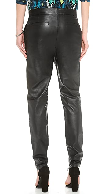 Nicholas Leather Tailored Pants
